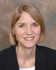 Photo of  Emily Van Walleghen, PhD, RD