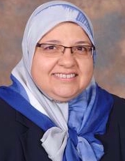 Photo of  Enass Abdel-hameed, MD, PhD