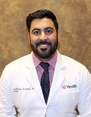 Photo of  Al-Faraaz Kassam, MD